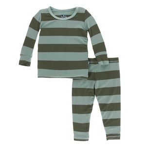Print Long Sleeve Pajama Set